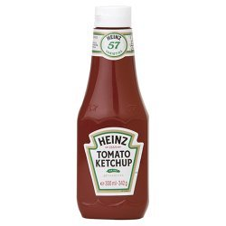 342g Heinz Tomato Ketchup Squeezy