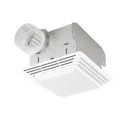 Lighted Bathroom Fan (Bathroom Fan, 50 CFM, 1.6A)