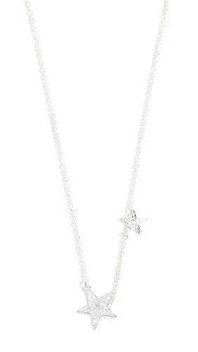 Designer Star Necklace - Gorjana Women's Super Star Necklace, Silver, One Size