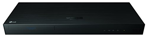 LG UP970 4K Ultra-HD Blu-ray Player with HDR Compatibilit...