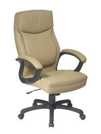 Office Star High Back Thick Padded Contour Seat and Back ...