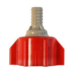 "Coke Bag in Box Bib Connector 3/8"" Red ()"