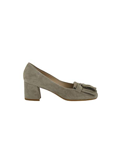 Fc458br231008 Mujer Altos Franco Gris Qwwhie1x Colli Gamuza Zapatos rqrOEa8x