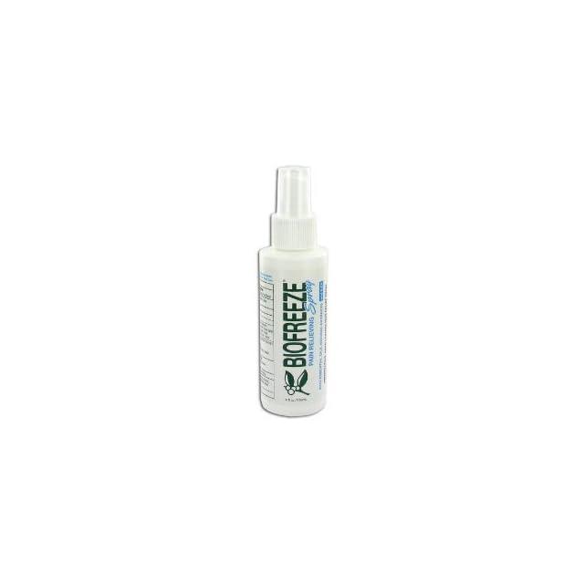 BIOFREEZE Pain Relieving Spray Gel, 4 Ounce Bottle tammy faye bakker Health & Personal Care