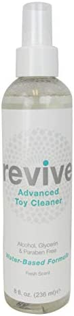 SHIBARI Revive Toy Cleaner, 8 Ounce Spray Bottle (Revive Fresh)