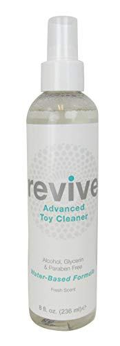 Antibacterial Toy Cleaner, 8 Ounce Spray Bottle (Revive ()