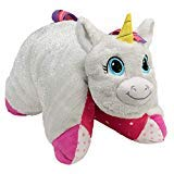 Flipazoo Flip 'N' Play Friends Plush Toy & Pillow in 1 (Unicorn/Fashion Kitty) Instantly Transforms for Hours of Playtime and Naptime - Flip Plush