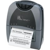 Portable Zebra Printers (Zebra P4T Thermal Transfer Printer - Monochrome - Portable - Label Print P4D-0UB10000-00)