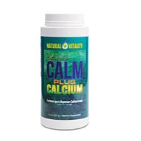 Natural Vitality Calm Plus Calcium 16 Oz by Natural Vitality