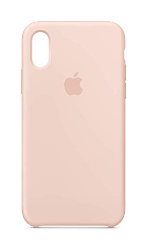 Apple Case - Apple Silicone Case (for iPhone Xs) - Pink Sand