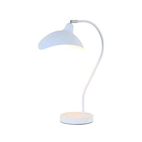 Nordic Girl Net Red Table Lamp Living Room Bedroom Reading Lamp Simple Modern Bedside Lamp Romantic Table Lamp European Table - Finish Grey Metal Tungsten