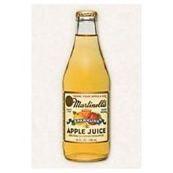 Martinelli Sparkling Apple Juice 10 FZ (Pack of 6)