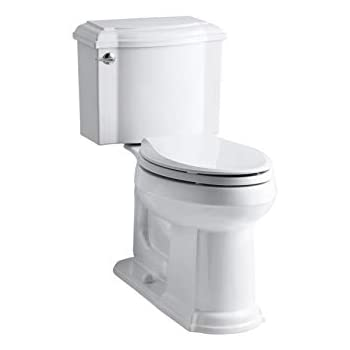 Kohler K 3837 0 Devonshire Comfort Height Two Piece