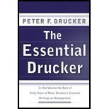 img - for Essential Drucker - In One Volume the Best of Sixty Years of Peter Drucker's Essential Writings on Management (01) by [Hardcover (2001)] book / textbook / text book
