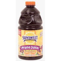 Sunsweet Prune Juice with Pulp, 64 oz. (Pack of 8)