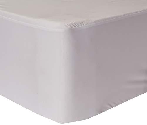 LINENSPA Zippered Encasement Waterproof, Dust Mite Proof, Bed Bug Proof, Hypoallergenic Breathable Mattress Protector - Twin Size