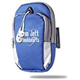 [Portable Arm Bag Rock N' Roll Love Jett RoyalBlue] (Joan Jett Wigs)