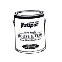 Medallion 27-4300 QT 1 Quart White Exterior Latex House & Trim Paint Semi Gloss