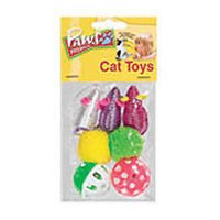 Paws Assorted Cat Toys (Case of 72)