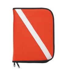 (Dive Flag Padded 3 Ring Binder Log Book (No Pages))