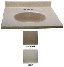 NATIONAL BRAND ALTERNATIVE 111411 BATHROOM VANITY TOP, CU...
