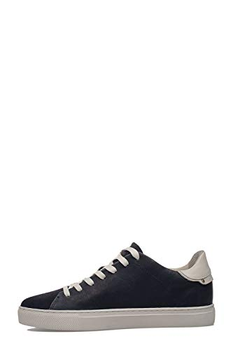 di London blu Sneakers in uomo da Crime pelle 11100pp140 8wYSw