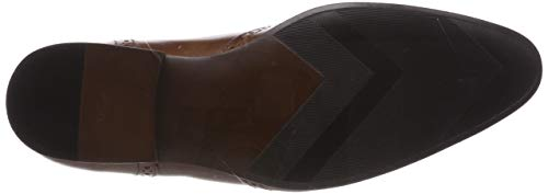 Hombre Derby Zapatos Leeson 0 tan Red Marrón De Cordones Para Tape n0SxqgP