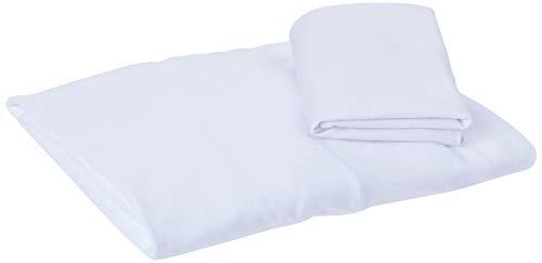 Hug A2050, Jogo de lencol + fronha para berco redondo fase 2, Branco