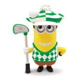 Despicable Me 2 - Minion Golfer - Poseable Action Figure by Thinkway Toys