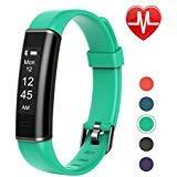 Letsfit Fitness Tracker Heart Rate Monitor, Pedometer Watch, Waterproof Smart Watch Activity Tracker