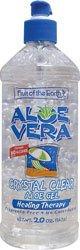 Aloe Vera Crystal Clear Gel 20 oz