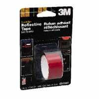 3M 3459 2X36 Red Reflective Safety Tape - Roll