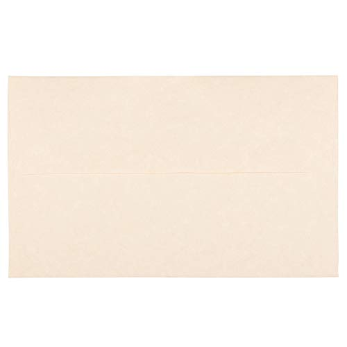 (JAM PAPER A10 Parchment Invitation Envelopes - 6 x 9 1/2 - Natural Recycled - 25/Pack)