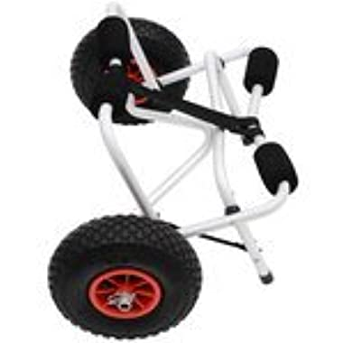 Outsunny Portable Canoe Carrier Kayak Transport Dolly