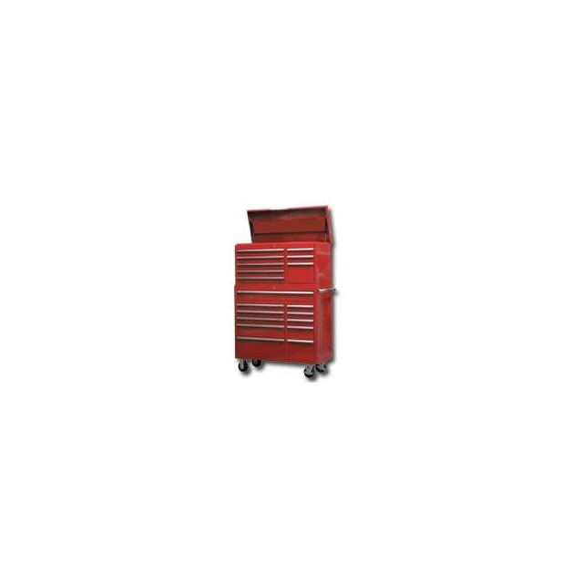 Red 41 Top Chest / Cabinet / Side Combo Tool Box (MTN31241R) Category Tool Boxes