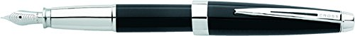 UPC 073228100821, Cross Aventura Onyx Black Fountain Pen with Medium Nib (AT0156-1MS)