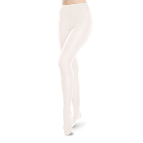 Ease Pantyhose - 15-20mmHg Medical Compression Tights (Winter White, L Long) by Therafirm
