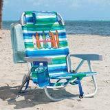 Tommy Bahama mochila plegable silla de playa en color azul ...