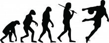 Soccer Evolution Picture Art - Kids Bed Room - Peel & Stick Sticker - Vinyl Wall Decal - 22 Colors Available ()