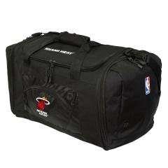 Miami Heat NBA Roadblock Duffle Gym Bag Luggage ()