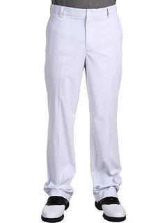 Nike Golf Men's Dri-Fit Stripe Pant, White/Wolf Grey, 34X36