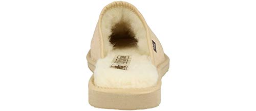 Lana Beige In Pantofole Shoes Leather Rbj Imbottito Scamosciate Morbida Donna Da 940c Pecora Modello Di xwvnBOnF8