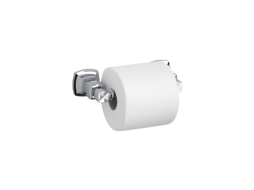 Kohler K-16265-CP Margaux Horizontal Toilet Tissue Holder, Polished Chrome by Kohler (Image #2)