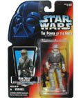 Star Wars Power of the Force Han Solo in Hoth Gear with Open Hand Action Figure By Kenner
