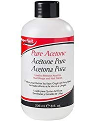 (Super Nail Pure Acetone Polish Remover, 8 oz (Pack of 2))