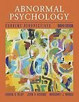 img - for Abnormal Psychology: Current Perspectives book / textbook / text book