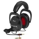 Direct Sound DJ Headphones, Black, Over Ear (EX25)