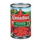 Contadina Roma Style Stewed Tomatoes Onion Celery & Green Peppers 14.5 oz (Pack of 12)