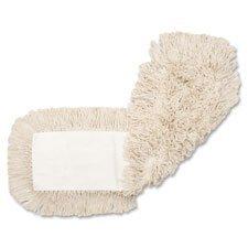 Genuine Joe Disposable Cotton Dustmop Refill, 48''x5'', Natural by Genuine Joe