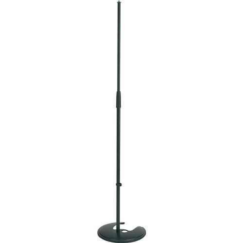 Microphone Base Stackable Stand - K & M Microphone Stand - Stackable Round Base